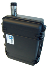 Optional PCC10 Hard Shell Security Case for unattended, long-term trending